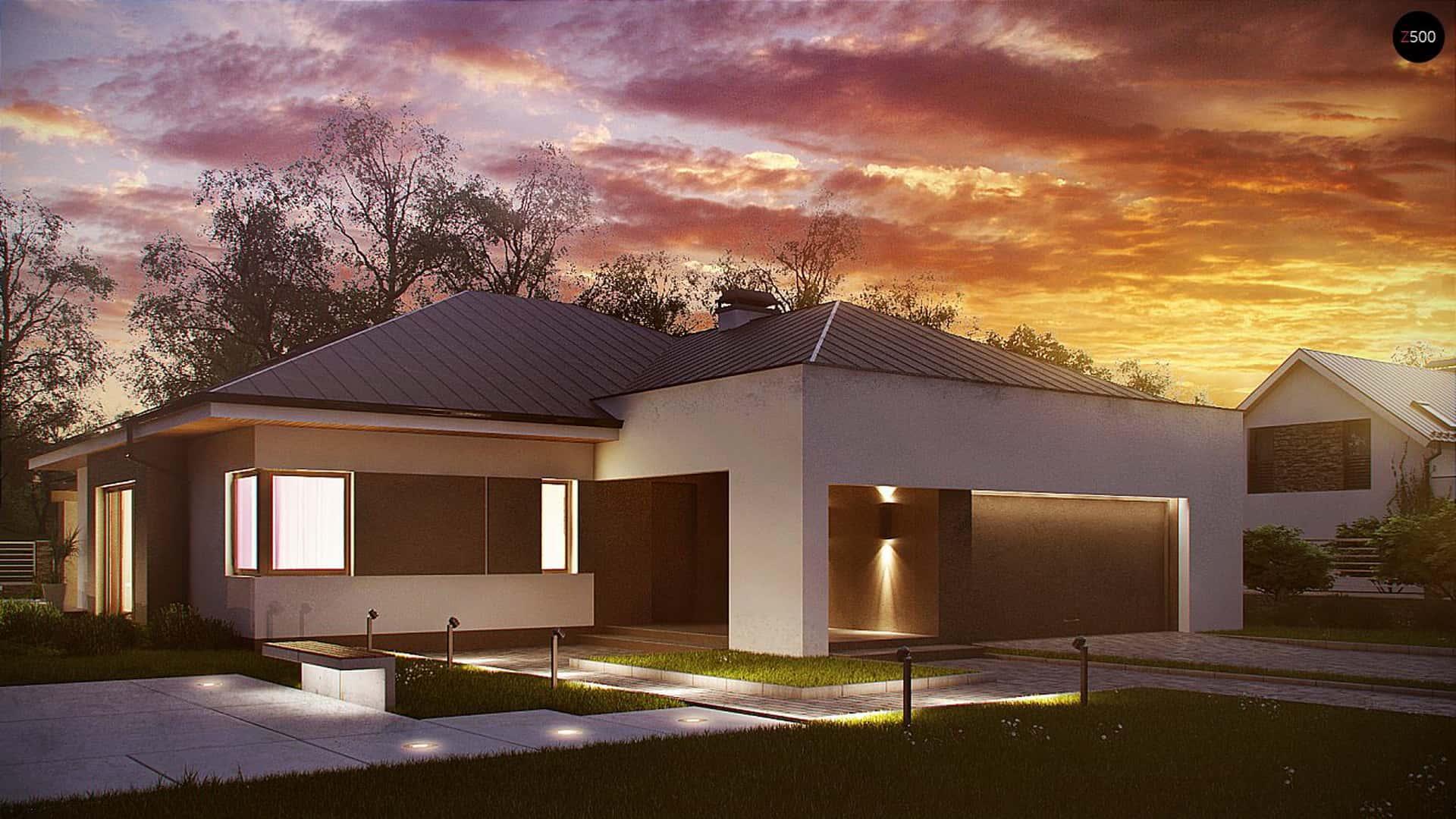 Одноэтажные дизайн проекты