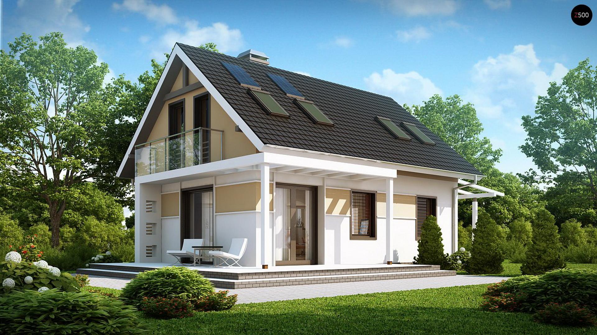размер дома мини